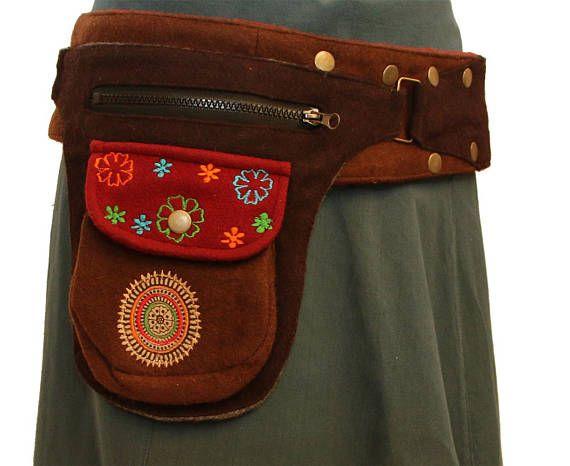 Bolsa de cintura de belt pack gracioso utilidad de la lana