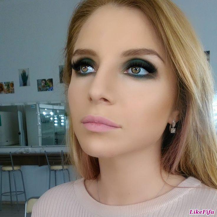 #вечерний_макияж, #броский_макияж_на_вечер, #макияж_likefifa, #макияж_от_мастера_Москвы, #насыщенный_макияж_глаз