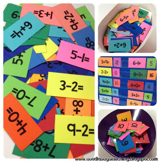 Math Fact Unit - addition and subtraction - flash cards - centers - timed drills - practice sheets - and more! Perfect for the whole year! http://www.teacherspayteachers.com/Product/Math-Facts-Unit-Addition-Subtraction-Flash-Cards-Weekly-Assessments-293965