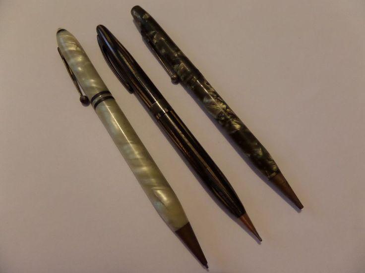 3 VINTAGE MECHANICAL PENCILS OSBORNE, UNIDENTIFIED & EPENCO