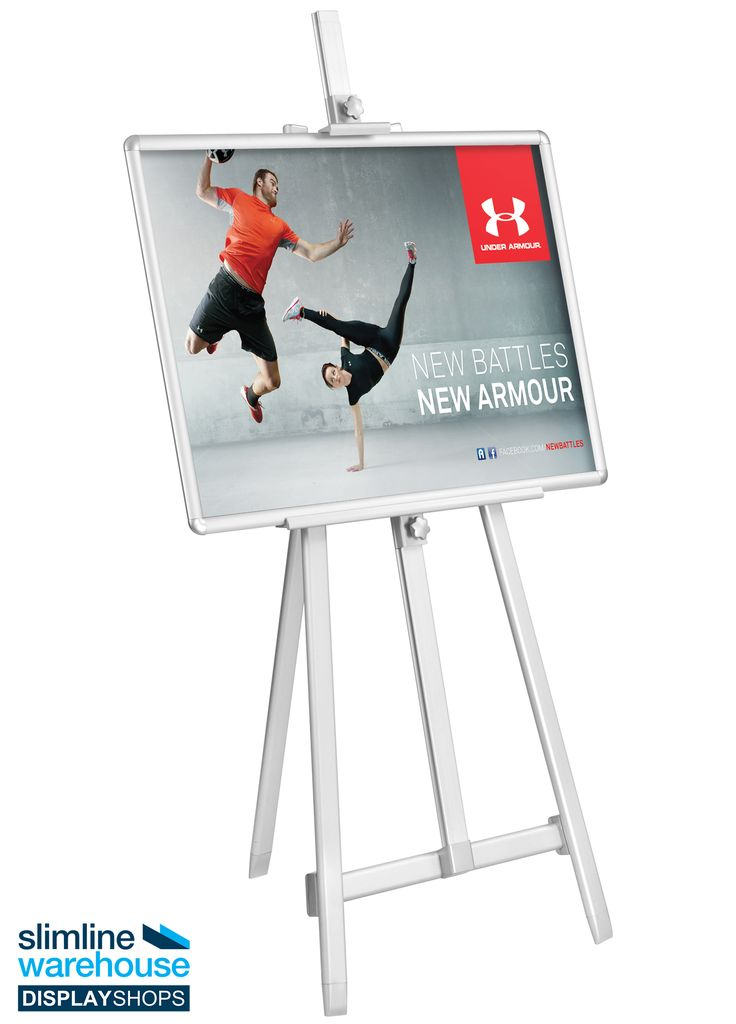 Beautiful display Easel - These folding easels are able to be used in many locations for different purposes, including showcasing art in galleries or welcoming attendees to their room in an exhibition hall! The display tripod is perfect for placement in universities, offices, restaurants, retail stores, pubs, museums, community centres, and even transit stations or airports to help promote & advertise businesses and products.