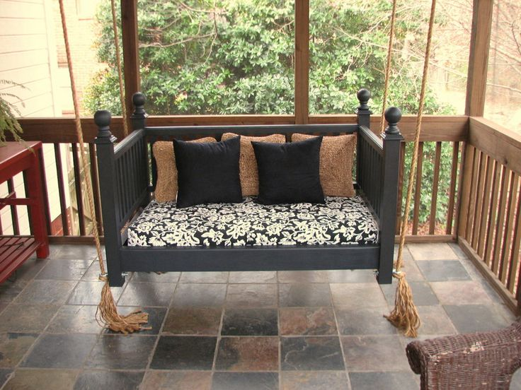 Crib Mattress and Upcycled bed