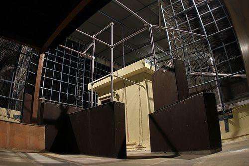Parkour Freerunning Scaffolding System Parkour Gym