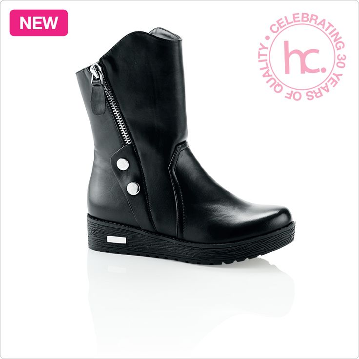 New Malinda trekker ankle boots Sizes: 3 - 8 Available in black From R699 cash or only R88 a month! Shop now >> http://www.homechoice.co.za/Fashion/Shoes/Malinda.aspx
