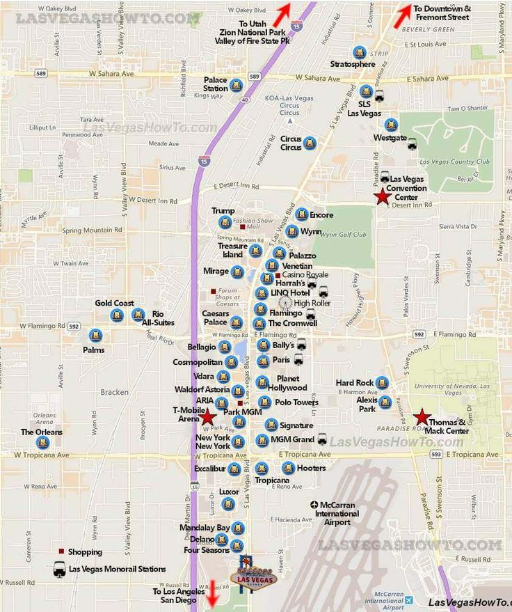 It is an image of Nerdy Las Vegas Strip Map Printable