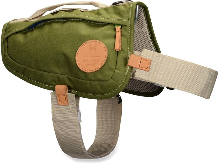 Alite Boa Lite Dog Harness has comfort features and pockets. Buddy needs this.