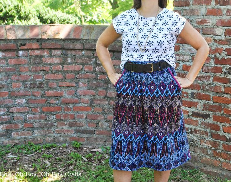 Boy, Oh Boy, Oh Boy Crafts: Blank Slate Sewing Team: Catalina Separates