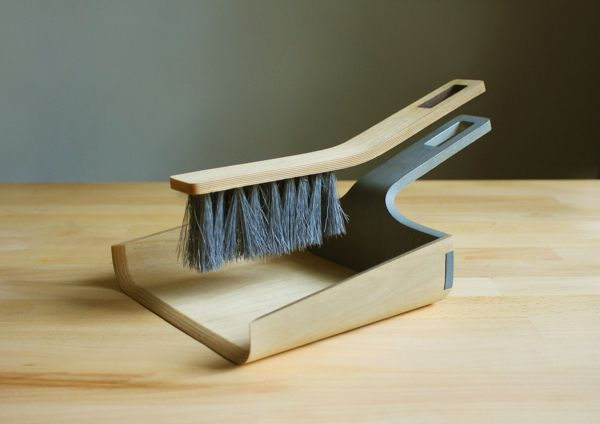 Alfred - Broom and Dustpan by Tom Chludil | via Yanko Design