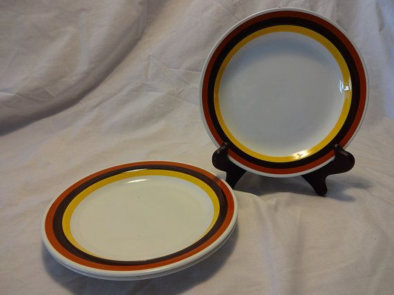 We have three of these salad plates. & 52 best Vintage Roots Dinnerware images on Pinterest | Cutlery ...