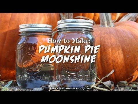 "Pumpkin Pie ""Moonshine"" Recipe – Copper Moonshine Still Kits - Clawhammer Supply"