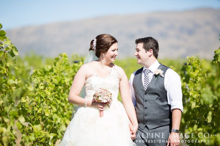 """""""I do"""" amongst the vines, at Rippon."""