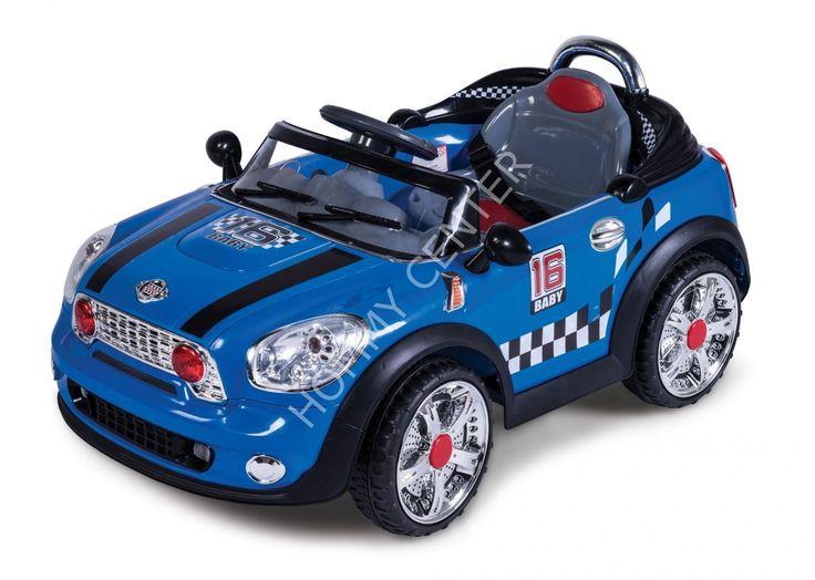 Baby 2 Go 9332 Akülü Araba Mini COOPER Mavi | Baby2Go | Akülü Arabalar
