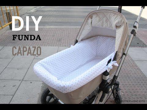 DIY Patrones para Funda de Capazo - YouTube