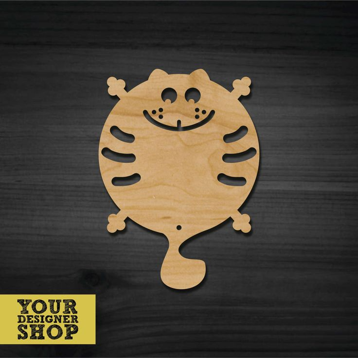 "Stand for a frying pan ""CAT"" by YourDESIGNERShop on Etsy"