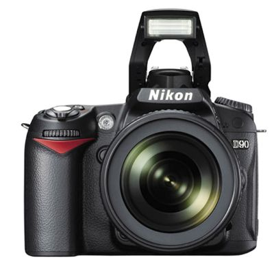 Nikon D90 Kit 18-105 VR Hitam Kamera DSLR [12.3 MP] | specification