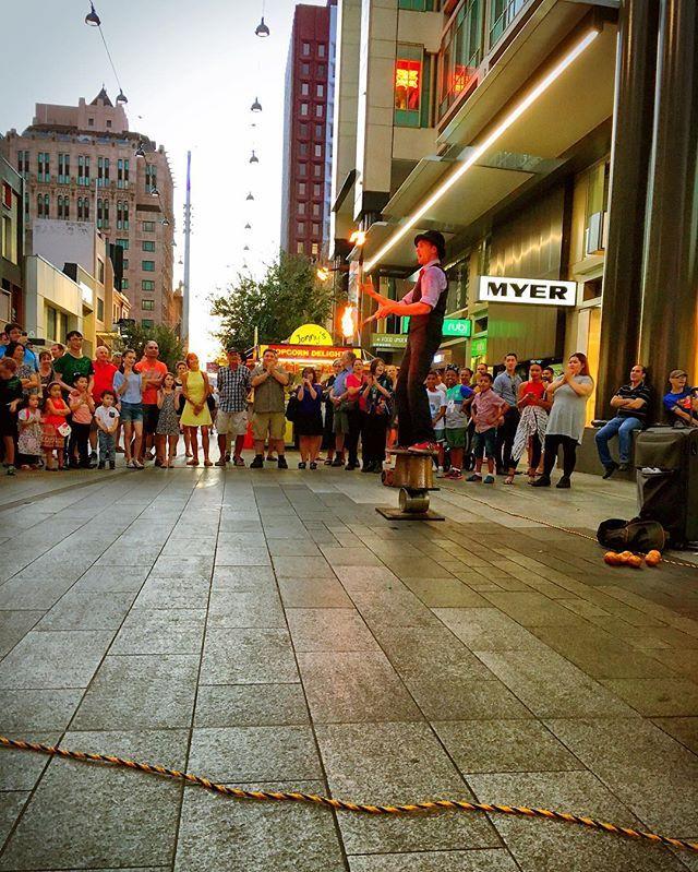 Lots of fire buskers yesterday.  . #busker #busking #fuegocarnal #gluttony #gardenofunearthlydelights #theoctagon #thepeacock #cirquedusoleil #adlfringe #fringefestival #fringe #wanderlust #wander #circus #theatre #music #visualart #design #physicaltheatre #cabaret #adelaide #adelady #glamadelaide #southaustralia #adelaidefringe #BankSAEyeWitness