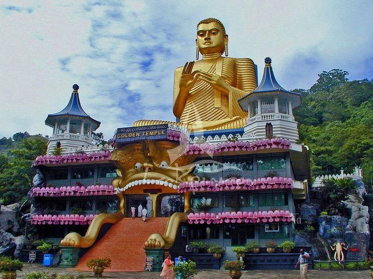 Sri Lanka. Colombo, a capital comercial do Sri Lanka, é a cidade mais popular para se visitar. Grande e impressionantes estátuas se destacam entre as atrações turísticas. Melhor que isso é a moeda local, pois uma rúpia do Sri-Lanka vale em torno de US$ 0,01.