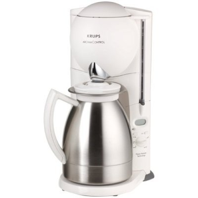 Krups Aroma Control coffee maker with stainless carafe. Coffee stays warm 4 EVAH! Best coffee ...