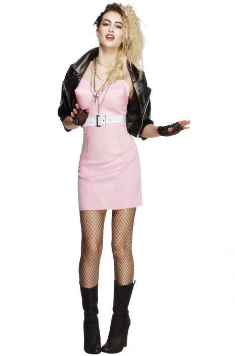 80s Rocker Diva Adult Costume #halloween #costumes #80sparty