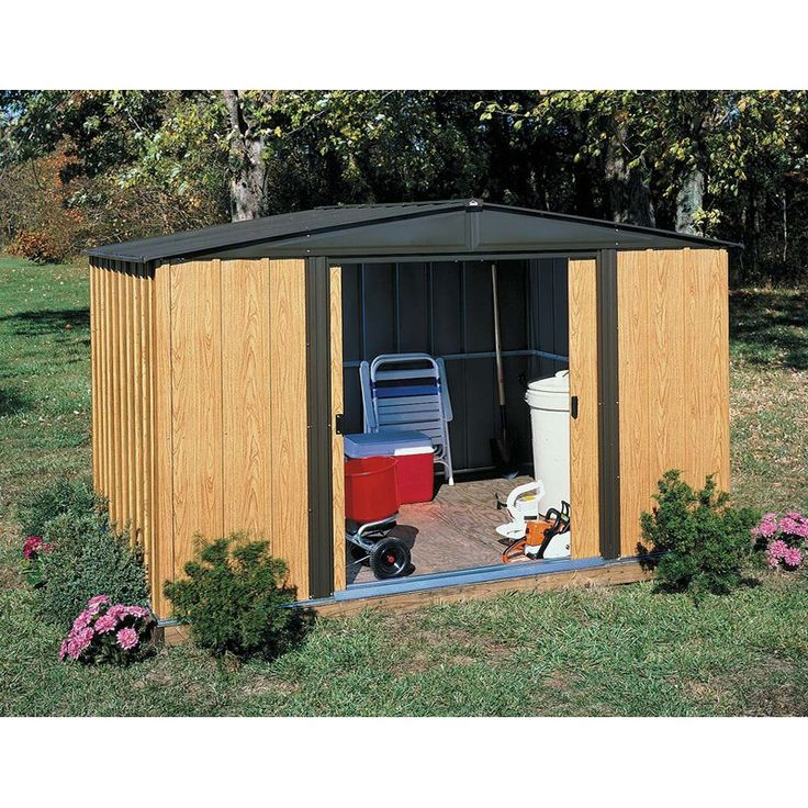 Have to have it. Arrow Shed Woodlake 8 x 6 ft. Shed - $408.97 @hayneedle
