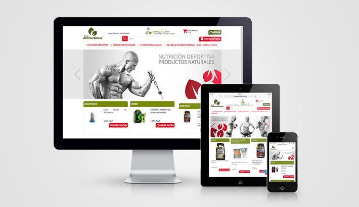 Conoce Tiendas Enforma Natural, nuestro último trabajo en ecommerce  http://s.designplus.co/TiendasEnforma