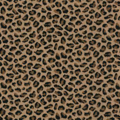 It's leopard print wallpaper from Home Depot...$39.98/bolt!