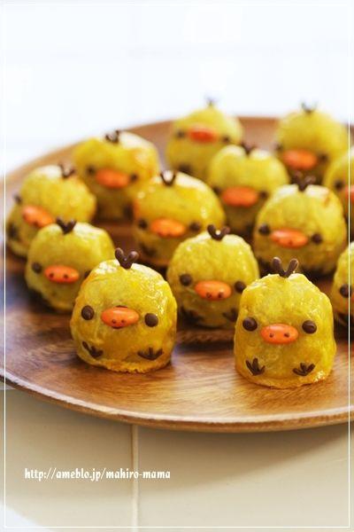 Kiiroitori sweet potato
