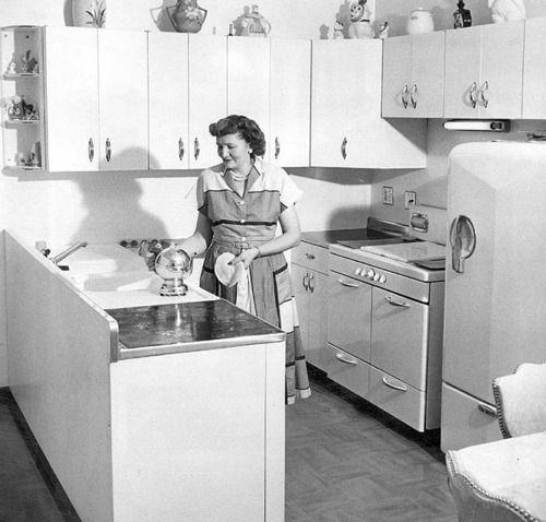 50s Kitchen Art: 86 Best 1950 Kitchen Images On Pinterest