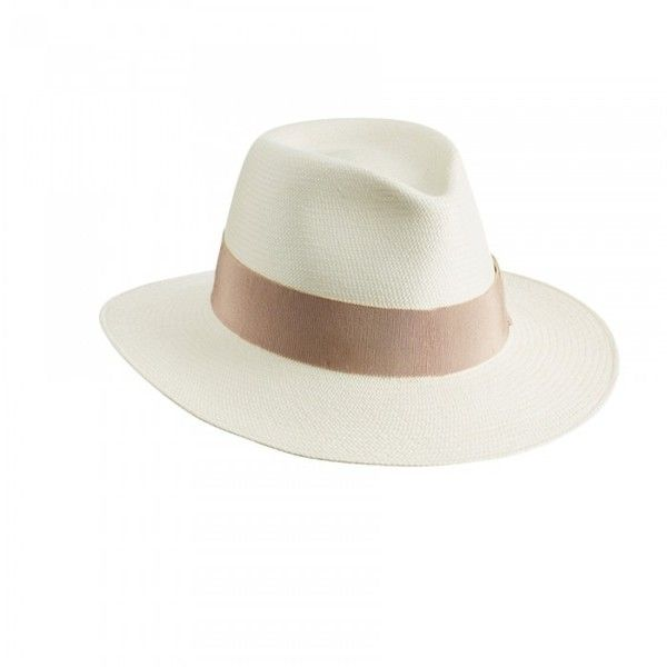 Classic Panama Fedora Hat l Helen Kaminski Helen Kaminski ($375) ❤ liked on Polyvore featuring accessories, hats, helen kaminski, fedora hat, helen kaminski hats and hand crochet hats
