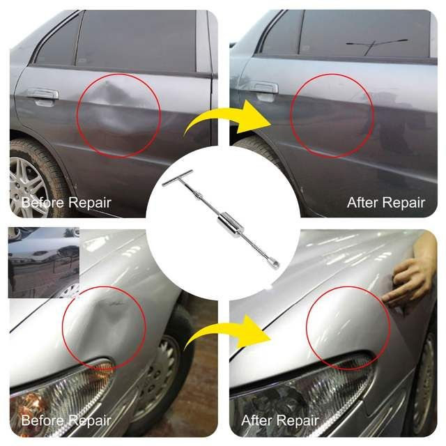 Car Dent Body Repair Exterior Puller Tools Hail Removal PDR Tool Pulling Tabs