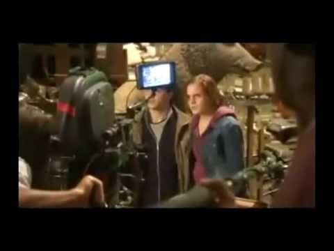 """Harry Potter - Bloopers.  My Personal favs """"Rupert...you shouldn't be laughing when you find out Harry is going to be killed by Snape."""" and """"I can't get the bra off,"""" said by Dan"""