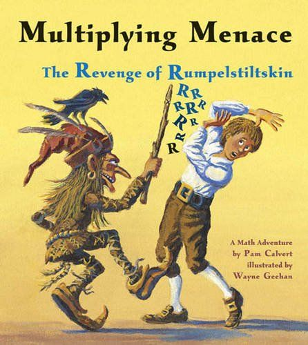 Genre: Traditional Literature Multiplying Menace: The Revenge of Rumpelstiltskin (A Math Adventure) by Pam Calvert is about a retelling of the stroy of Rumpelstiltskin. The original stpry of Rumpelstiltskin focuses on the morals of honesty, loyality and greed. http://www.amazon.com/dp/1570918902/ref=cm_sw_r_pi_dp_aMESvb01FNMVE