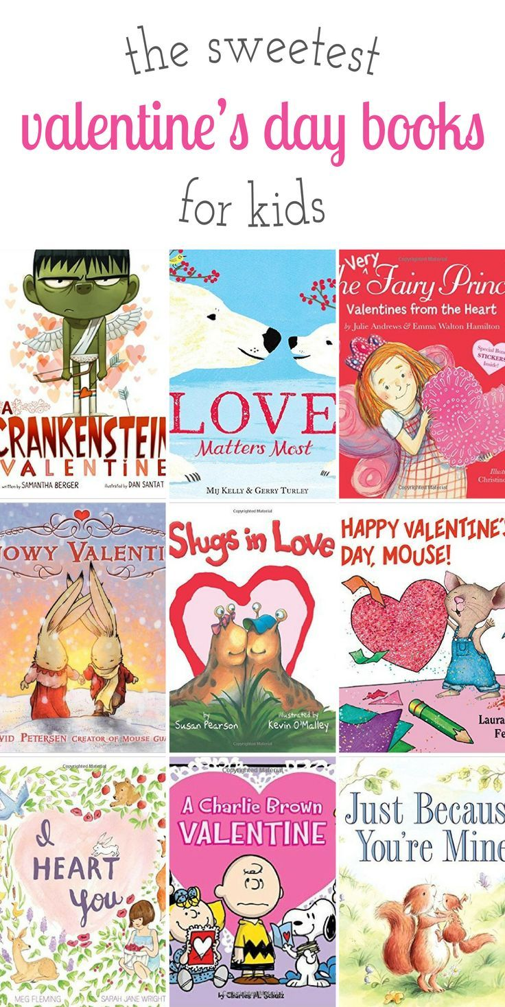 Sweet stories for Valentine's Day, perfect for celebrating love, friendship, and kindness with the kids you love most! via /https/://www.pinterest.com/fireflymudpie/
