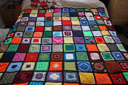 I love scrappy afgansCrafts Ideas, Epic Crafts, Scrappy Afgan, Crafts Projects, Crochet Scrapghan, Granny Squares, Scrappy Afghans, Epic Scrapghan So, Epic Scrapghan Indeed