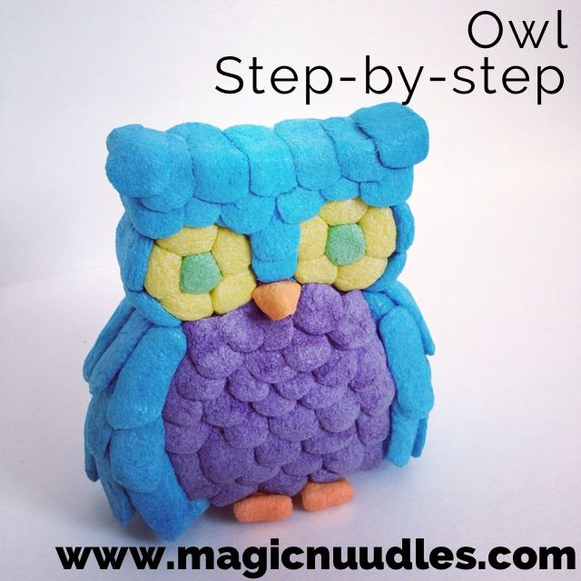 step by step directions for Magic Nuudles on line!