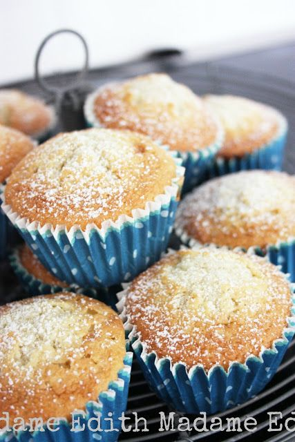 Madame Edith - Recept: Bananmuffins