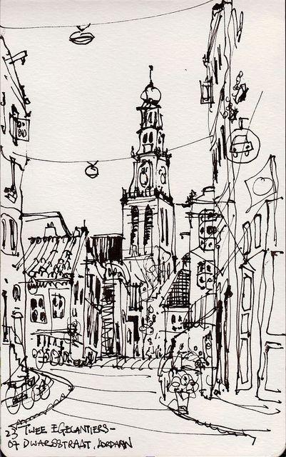 #urban #sketch #sketching #architecture #illustration