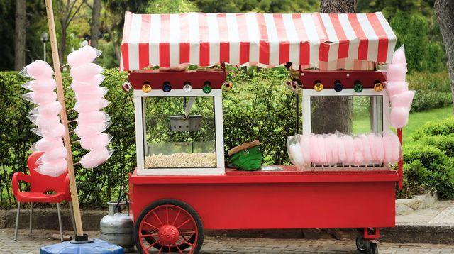 Une machine à pop corn pour son mariage