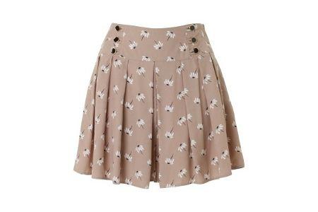 Instrucciones en inglés de cómo hacer un patrón de falda-pantalón corta. Culottes skirt shorts skort | links to culottes diy pattern