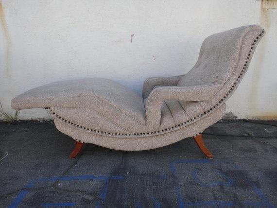 Vintage 1950u0027s Contour Vibrating Chair In Floral Vinyl Los Angeles By  Housecandyla, $299.00