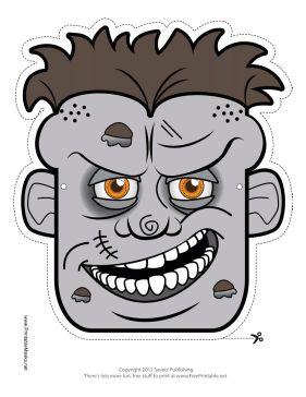 Free Zombie Printable Masks