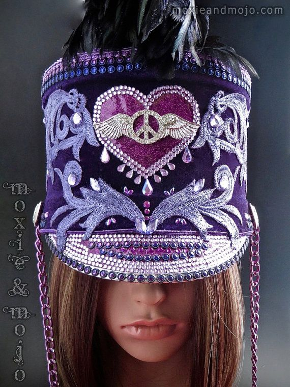Hey, I found this really awesome Etsy listing at https://www.etsy.com/listing/504965243/marching-band-festival-hat-hendrix-size