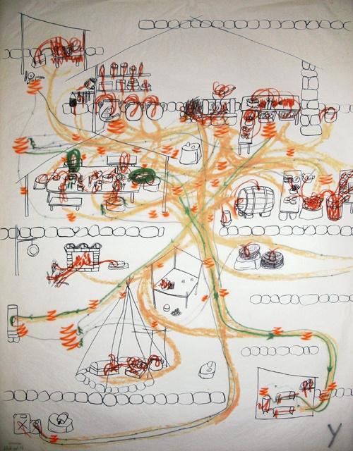 Fernand Deligny (França) estará na #30bienal - A iminência das poéticas. De 7/09 a 9/12