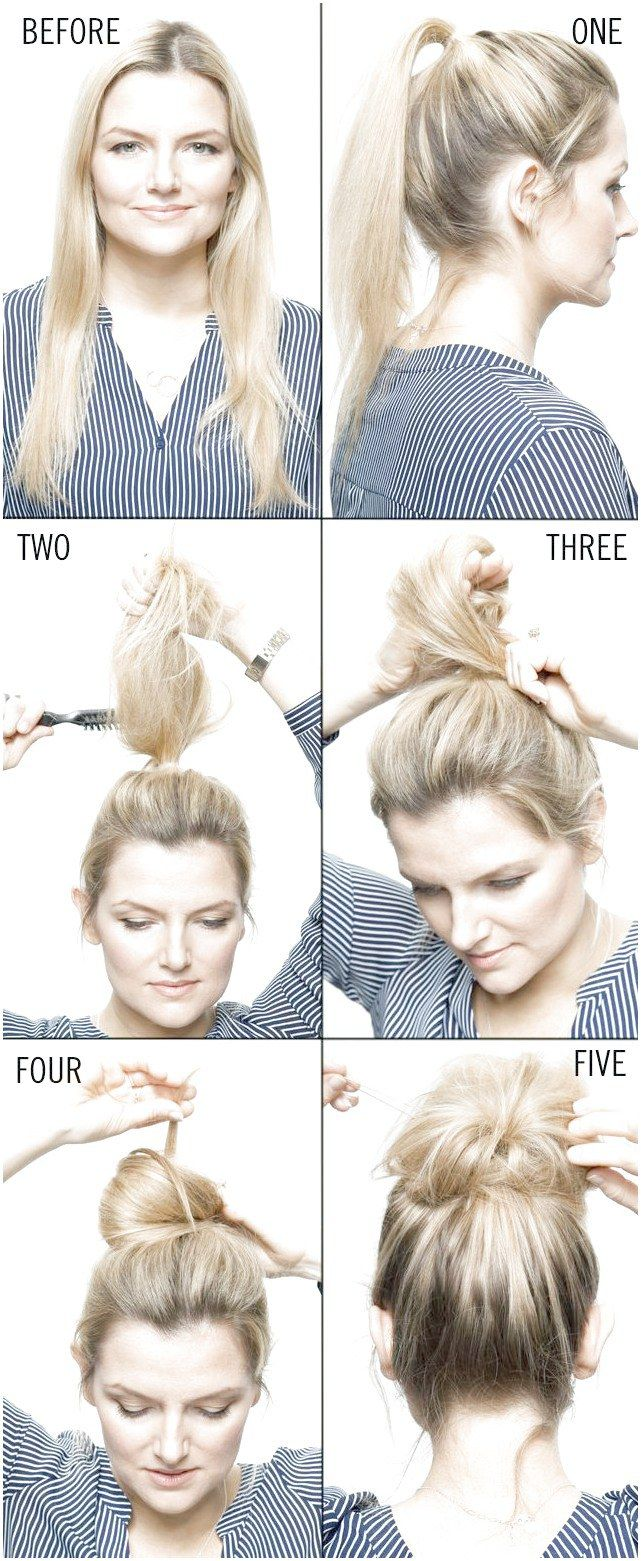 Our guide to the perfect topknot . #EasyHairUpdos Like what you