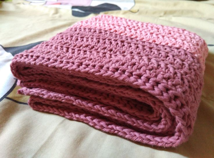 Plain Scarf #crochet #crocheting