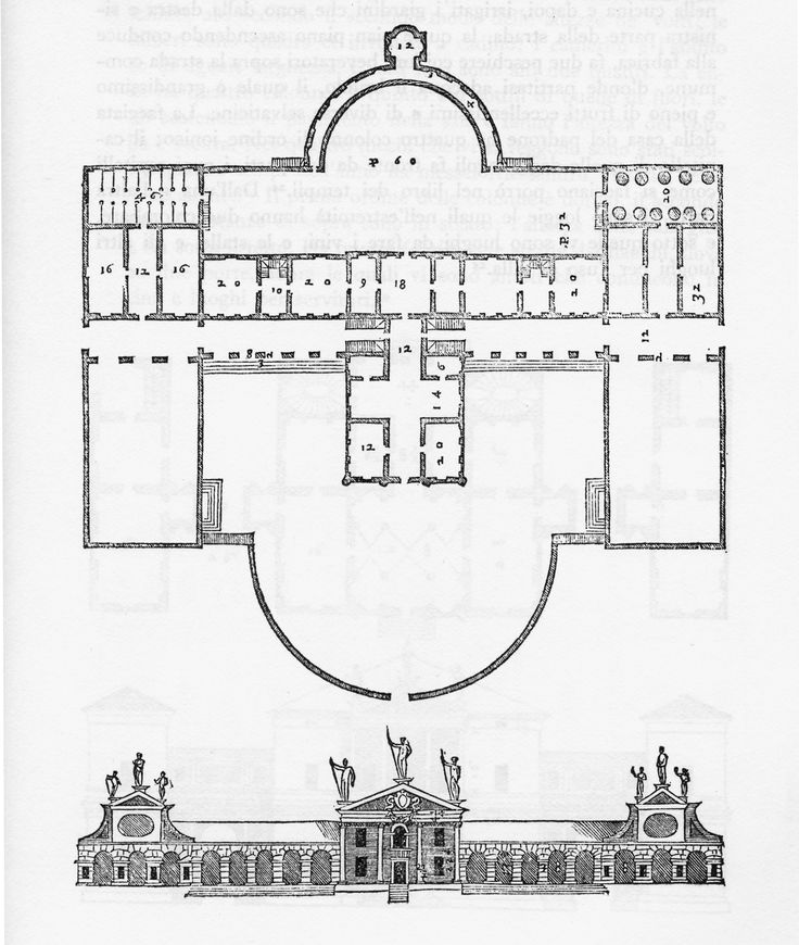 6) Villa Barbaro Volpi; Maser (Treviso); designed and