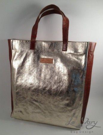 GOLDEN SUMMER leather handbag