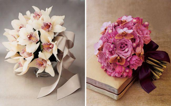 орхидеи на вашей свадьбе 11 букет