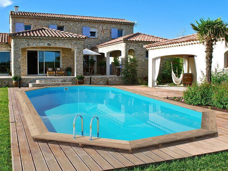 46 best Idée déco piscine images on Pinterest Swimming pools - fabriquer sa piscine en bois