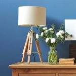 Tripod Table Lamp - Natural (C063) with Free Delivery | The Cotswold Company